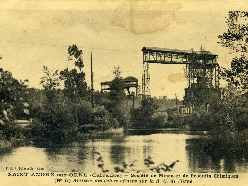 Les mines de May-sur-Orne