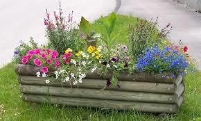 jardinières fleuries