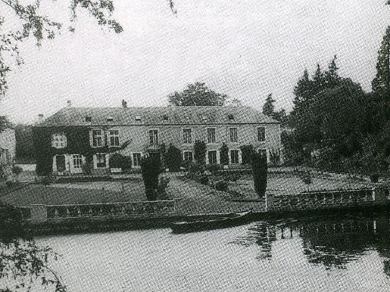 Le manoir en 1930