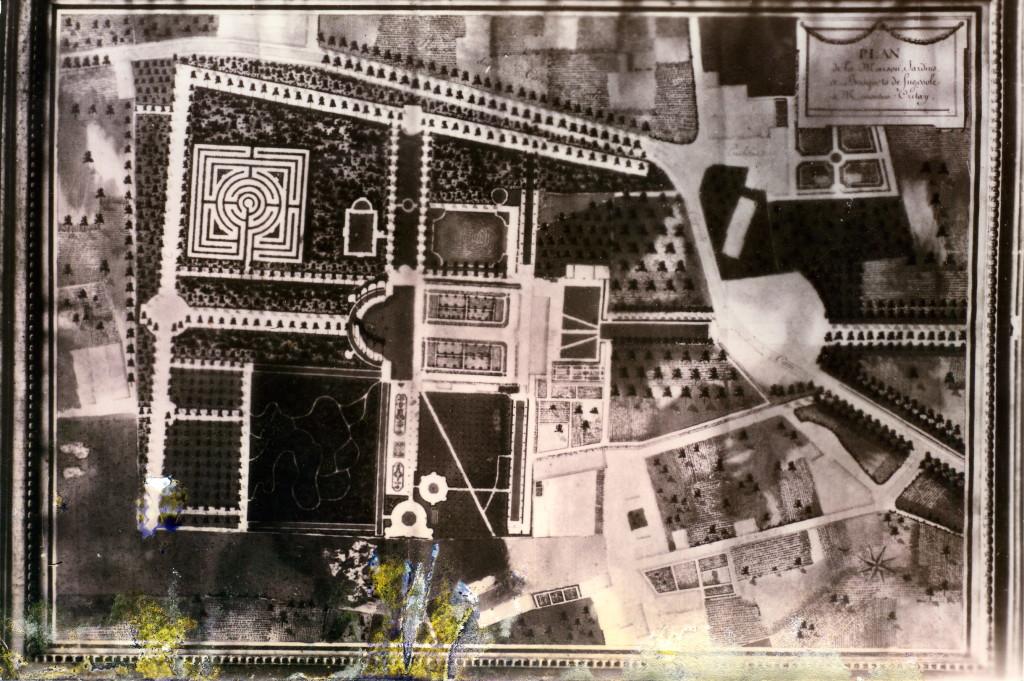photo du plan dont il est question dans la monographie - 1732